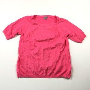 Joseph A Womens Pink Rayon Blouse Large EX :01339
